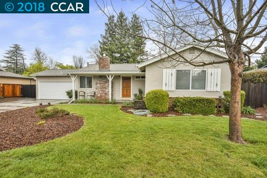 Single Family Home for Sale at 11 Pinewood Court 11 Pinewood Court Walnut Creek, California 94597 United States