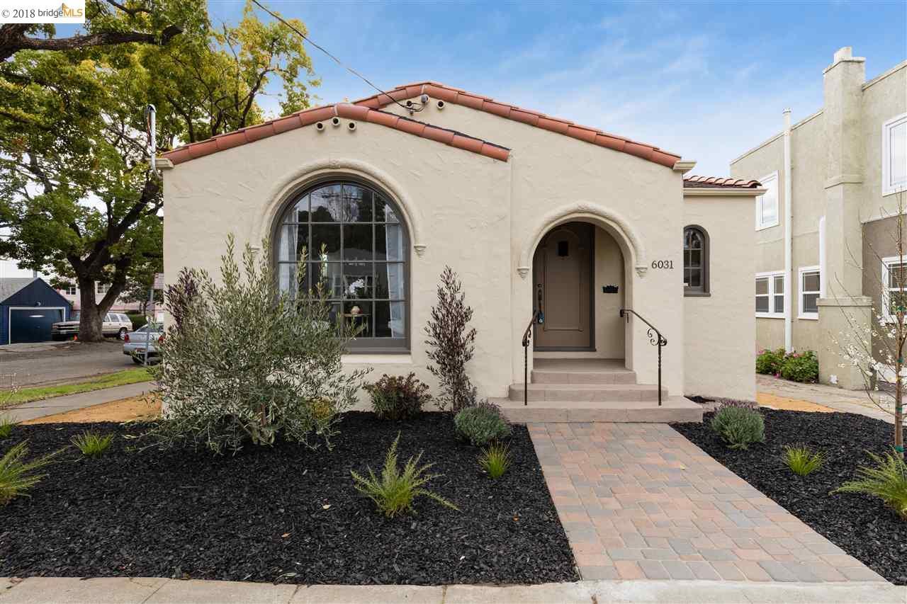Maison unifamiliale pour l Vente à 6031 Monadnock Way 6031 Monadnock Way Oakland, Californie 94605 États-Unis