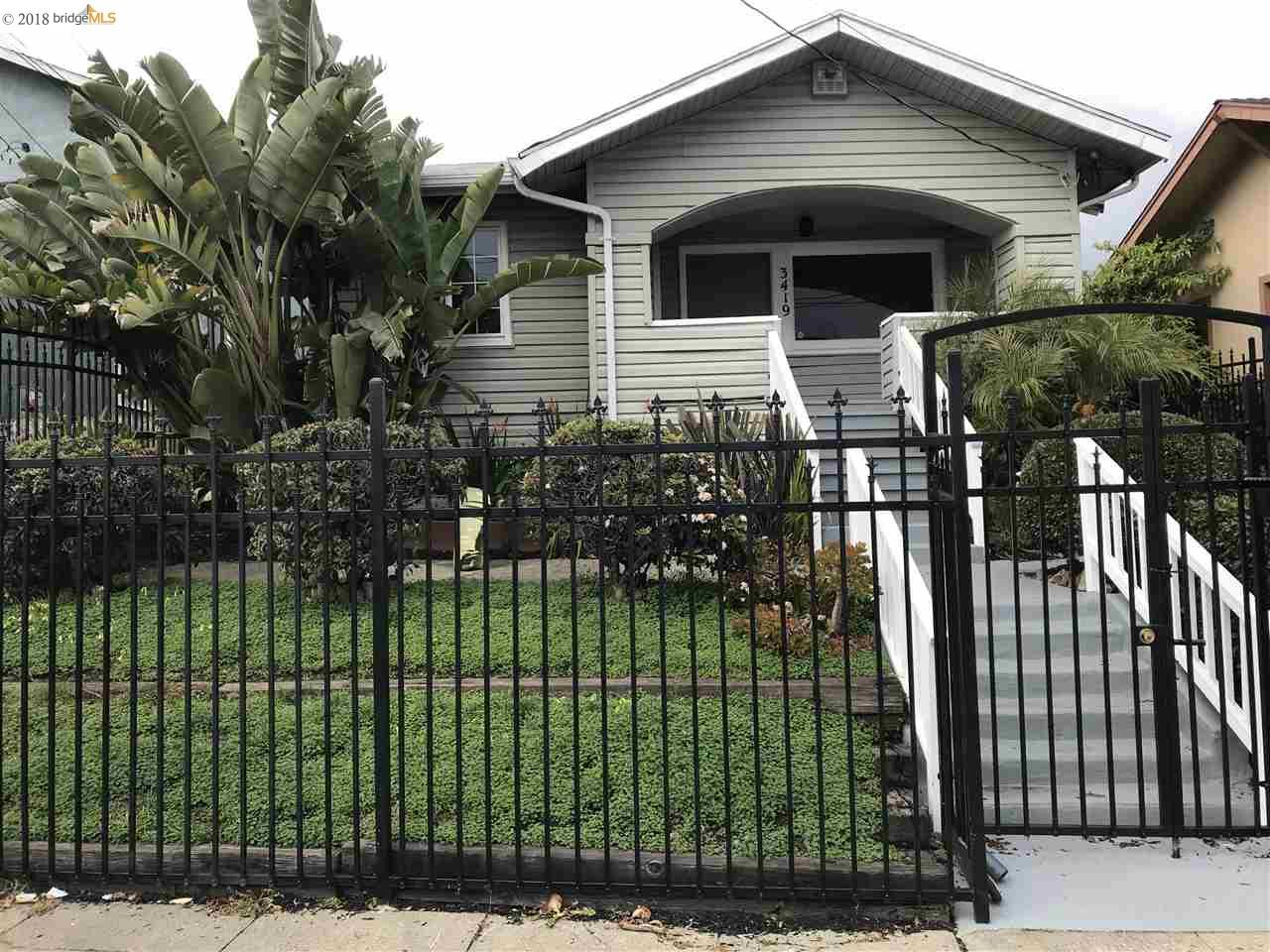 Maison unifamiliale pour l Vente à 3419 Maple Avenue 3419 Maple Avenue Oakland, Californie 94602 États-Unis