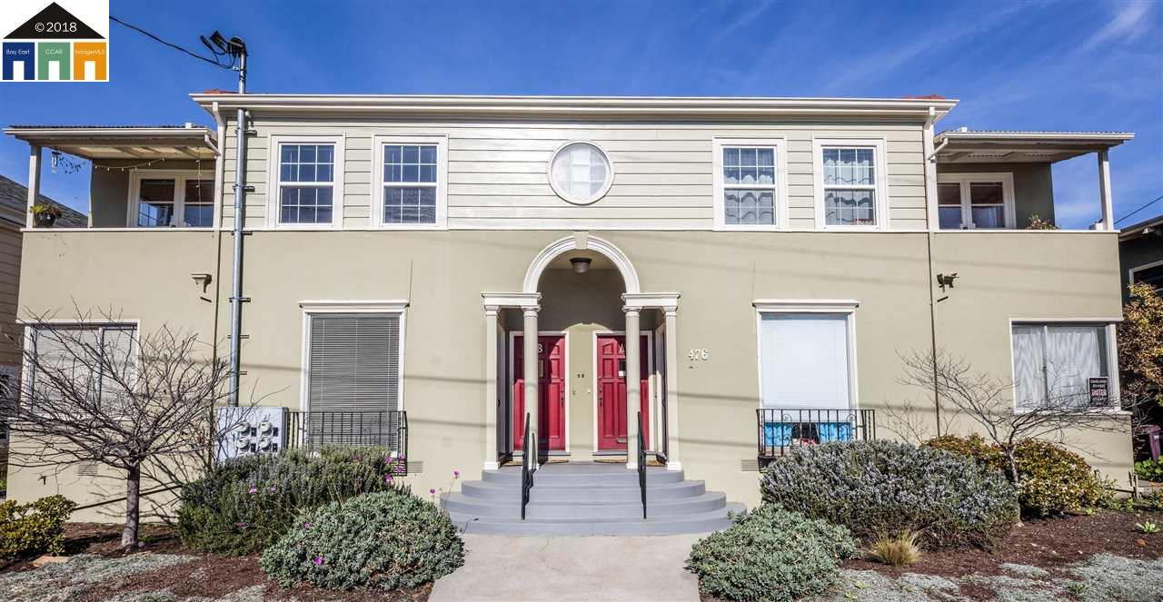 Multi-Family Home for Sale at 476 42nd Street 476 42nd Street Oakland, California 94609 United States