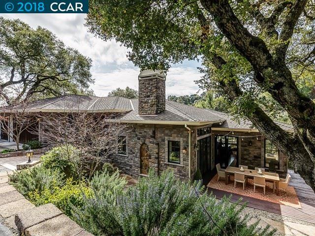 Частный односемейный дом для того Продажа на 1 Tappan Way 1 Tappan Way Orinda, Калифорния 94563 Соединенные Штаты