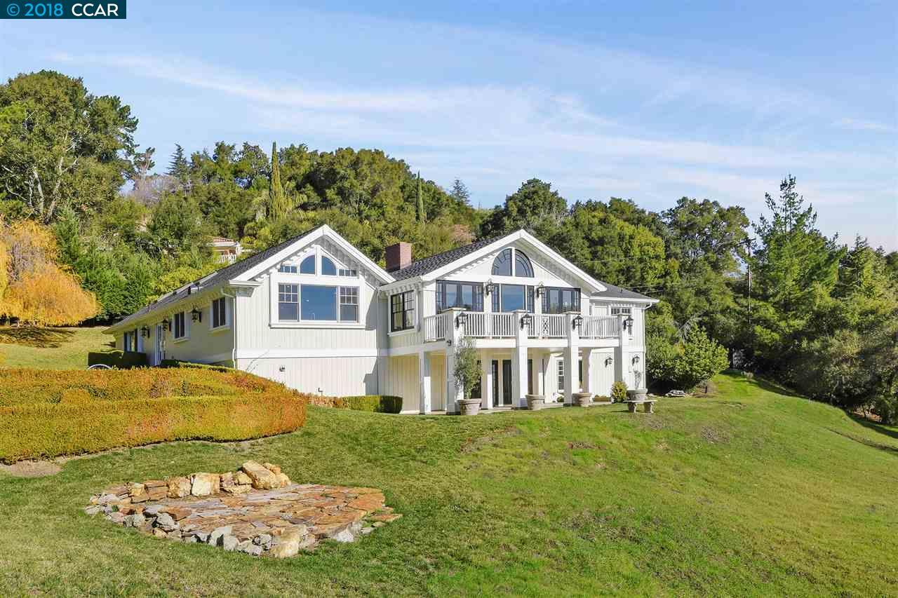 Частный односемейный дом для того Продажа на 5 Tappan Lane 5 Tappan Lane Orinda, Калифорния 94563 Соединенные Штаты