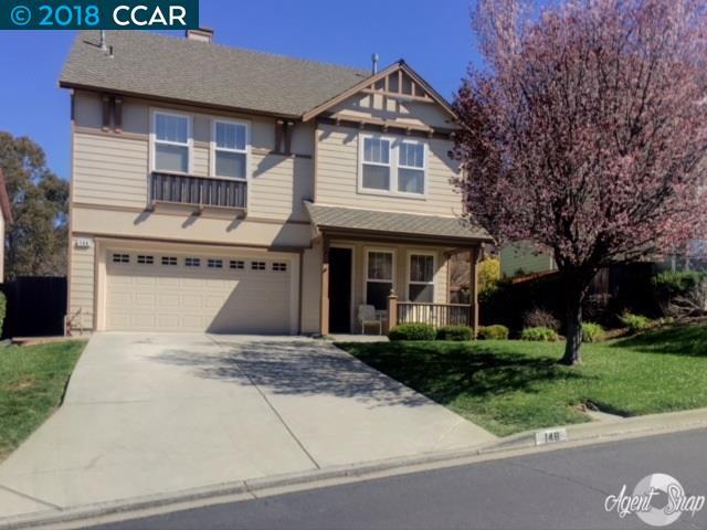 Частный односемейный дом для того Продажа на 148 Kensington Circle 148 Kensington Circle Hercules, Калифорния 94547 Соединенные Штаты