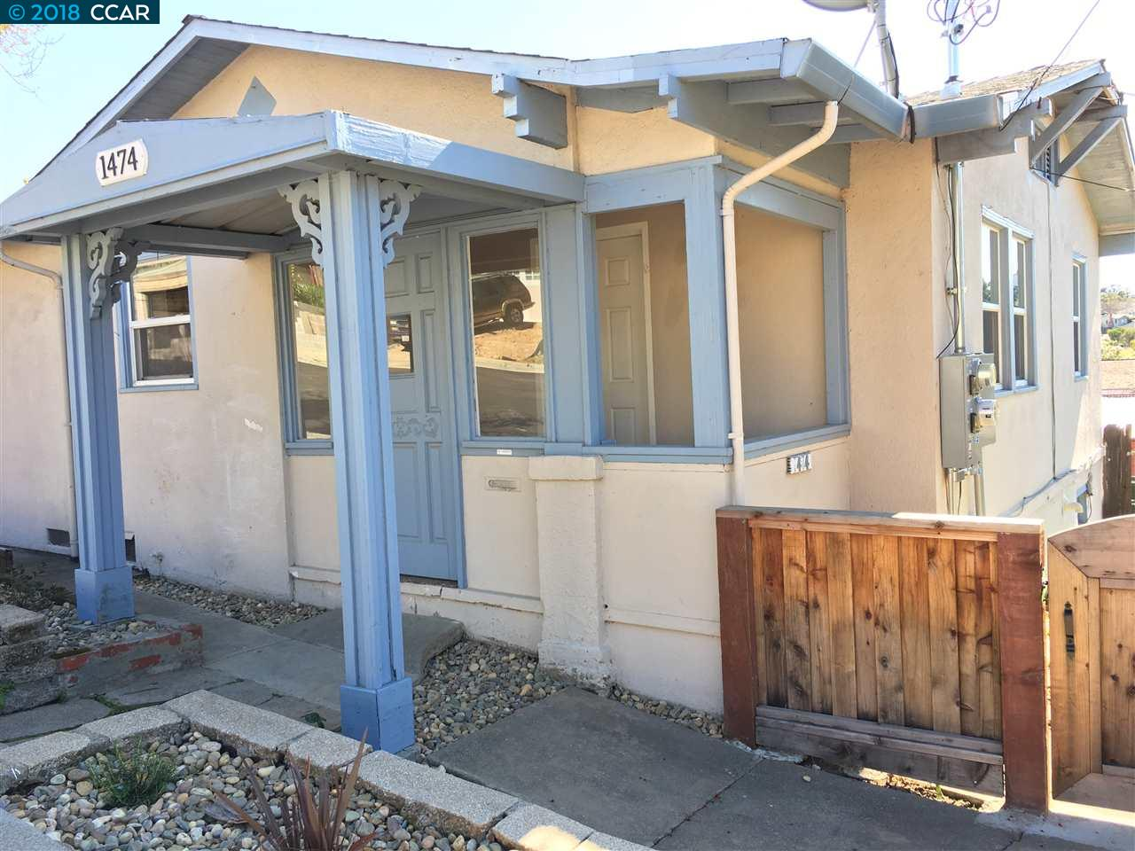 Single Family Home for Rent at 1474 Beech Street 1474 Beech Street Martinez, California 94553 United States