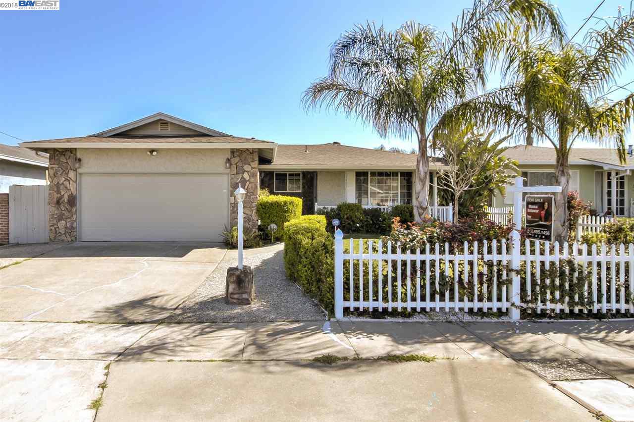 Частный односемейный дом для того Продажа на 1405 Poppy Way 1405 Poppy Way Antioch, Калифорния 94509 Соединенные Штаты