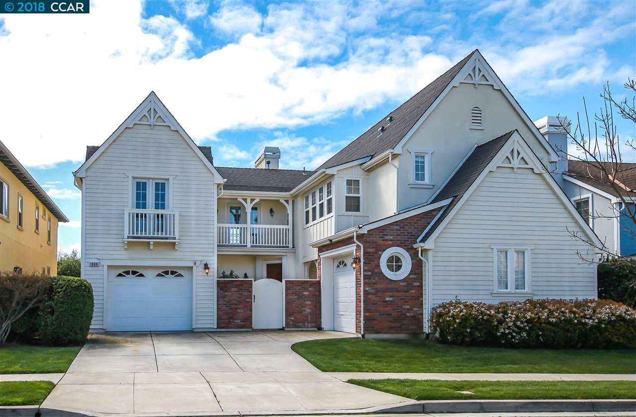 واحد منزل الأسرة للـ Sale في 1099 Regatta Pt 1099 Regatta Pt Hercules, California 94547 United States