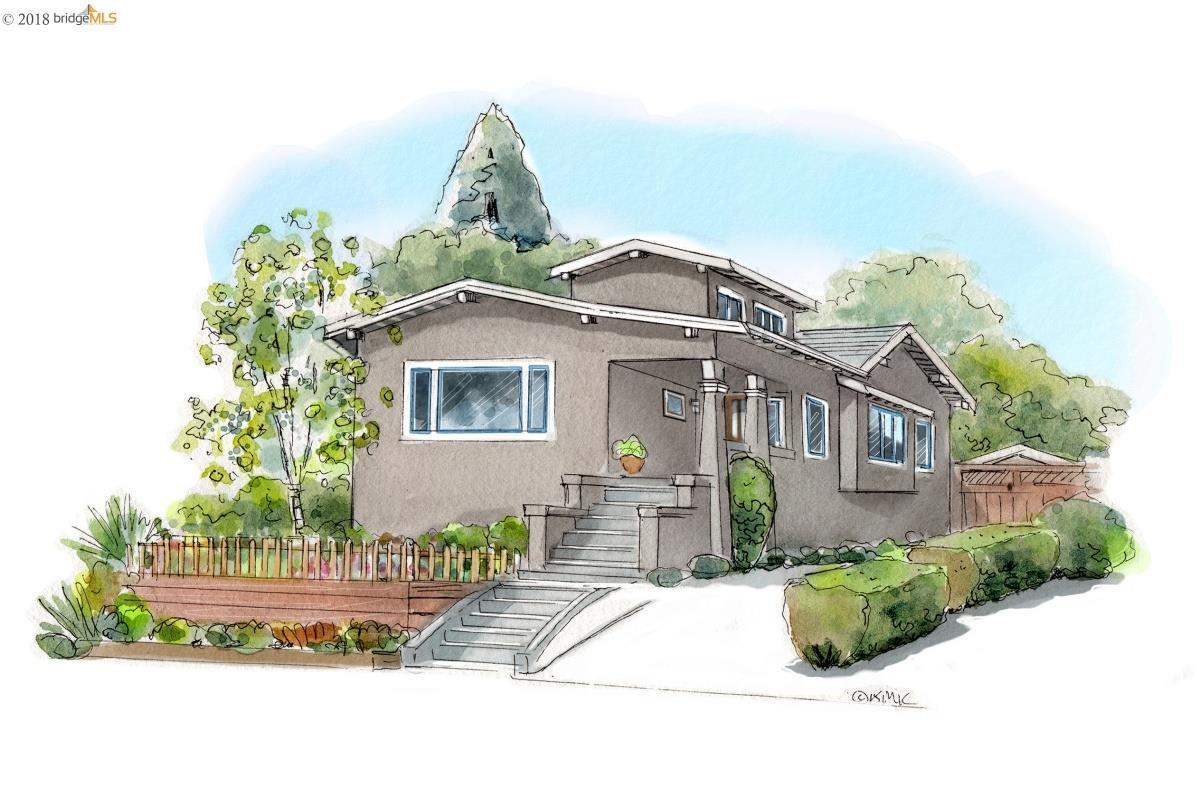 獨棟家庭住宅 為 出售 在 4366 Edgewood Avenue 4366 Edgewood Avenue Oakland, 加利福尼亞州 94602 美國