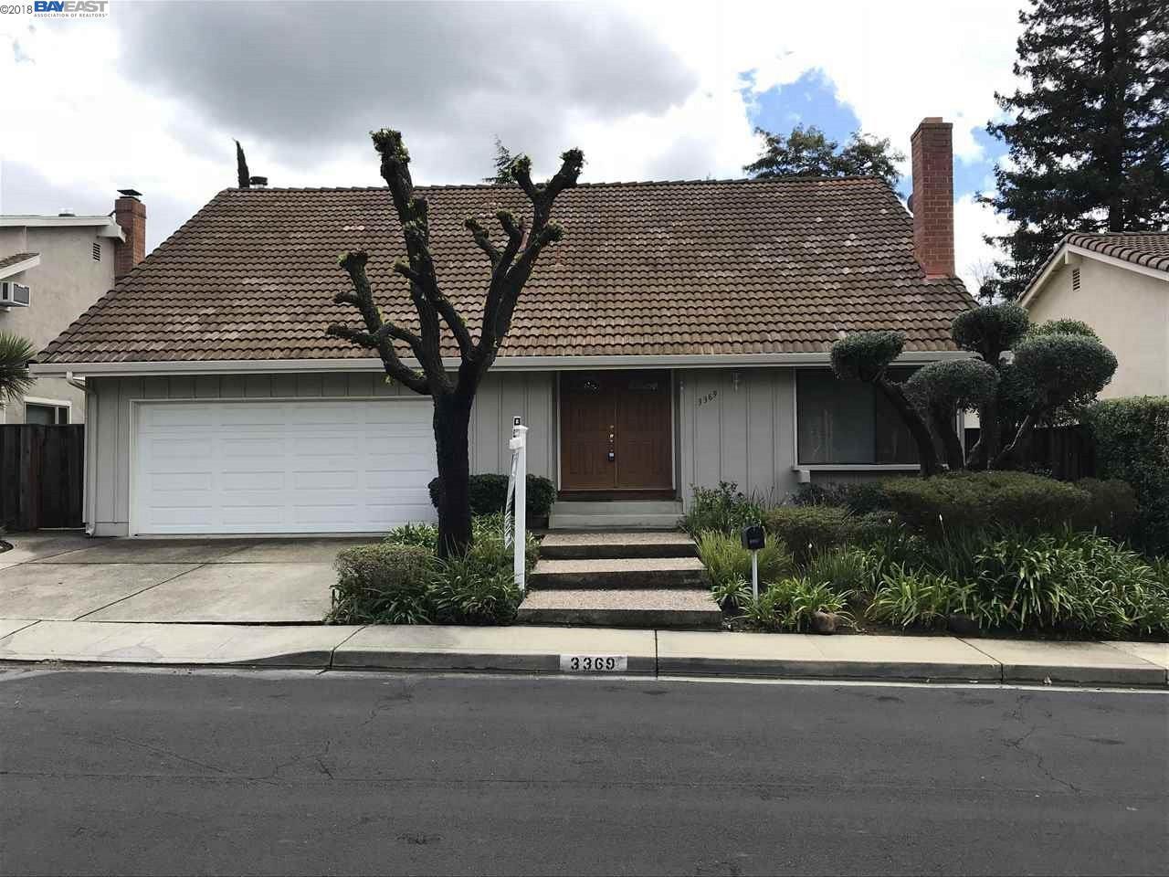 一戸建て のために 賃貸 アット 3369 Chamberlain Court 3369 Chamberlain Court Walnut Creek, カリフォルニア 94598 アメリカ合衆国
