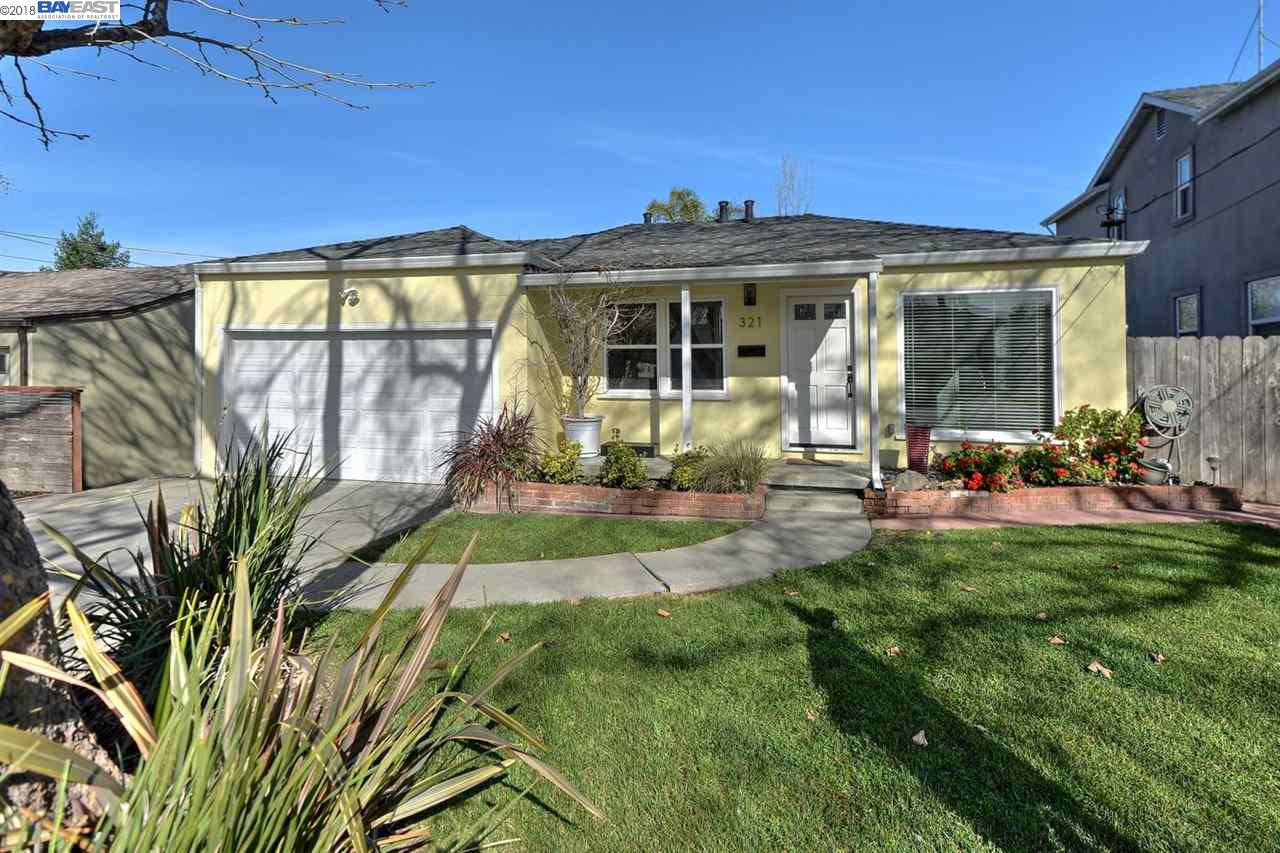 Maison unifamiliale pour l Vente à 321 Ohlones Street 321 Ohlones Street Fremont, Californie 94539 États-Unis