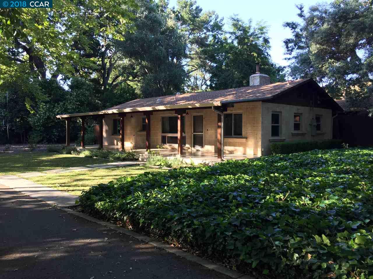 一戸建て のために 賃貸 アット 1400 Bernie Lane 1400 Bernie Lane Alamo, カリフォルニア 94507 アメリカ合衆国