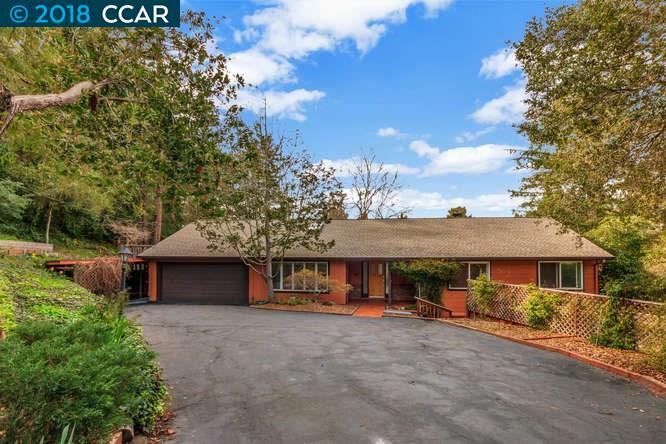 一戸建て のために 売買 アット 161 Overhill Road 161 Overhill Road Orinda, カリフォルニア 94563 アメリカ合衆国