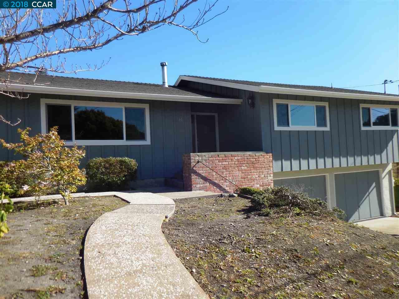 一戸建て のために 賃貸 アット 16 La Honda Court 16 La Honda Court El Sobrante, カリフォルニア 94803 アメリカ合衆国