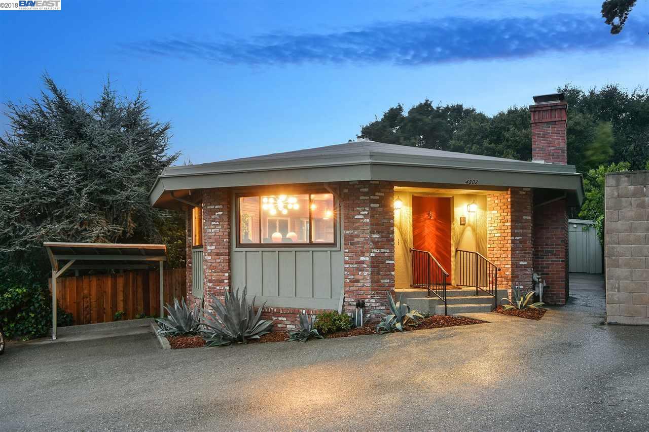 獨棟家庭住宅 為 出售 在 4802 FAIR AVENUE 4802 FAIR AVENUE Oakland, 加利福尼亞州 94619 美國