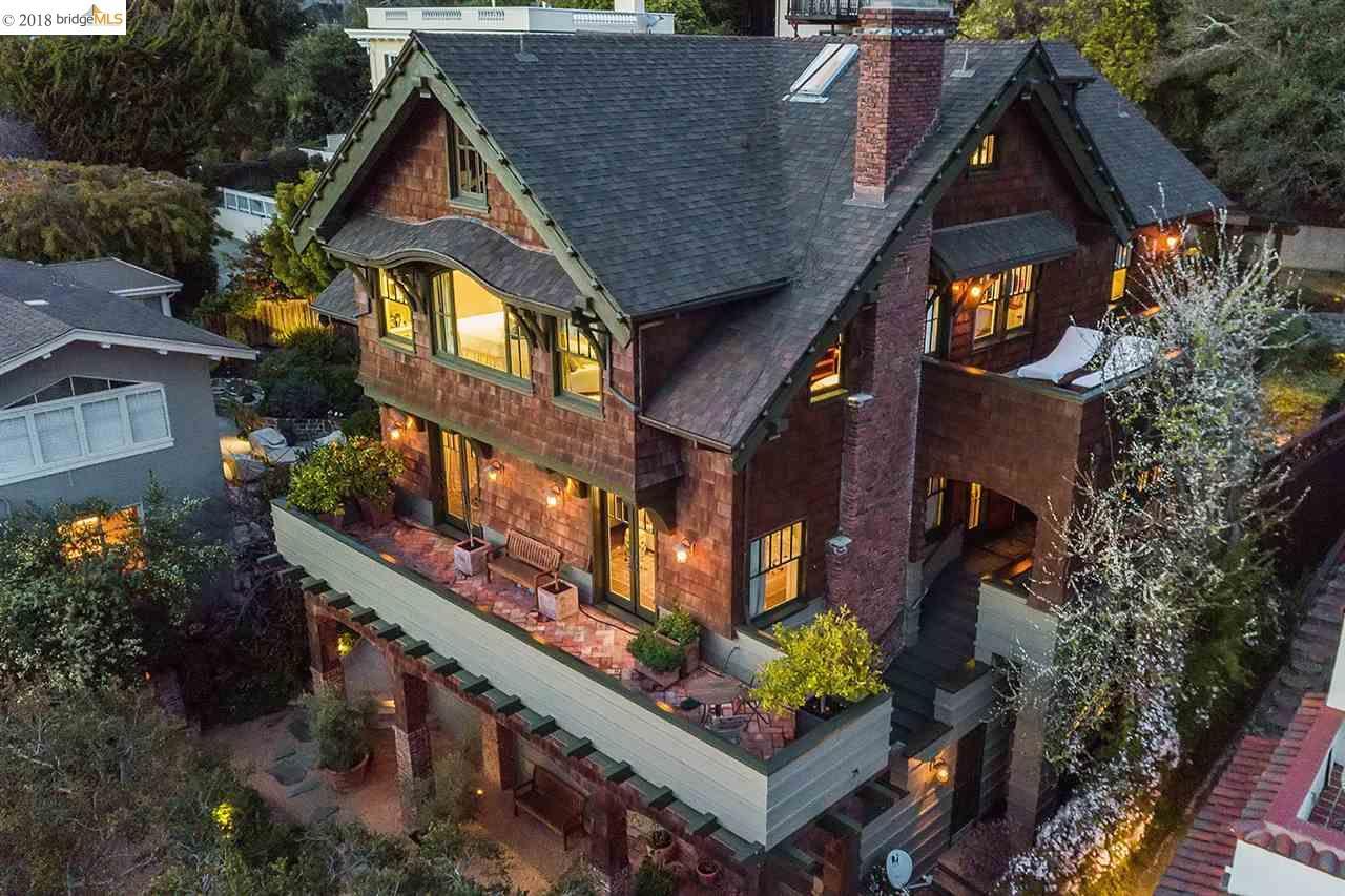 一戸建て のために 売買 アット 221 Pacific Avenue 221 Pacific Avenue Piedmont, カリフォルニア 94611 アメリカ合衆国