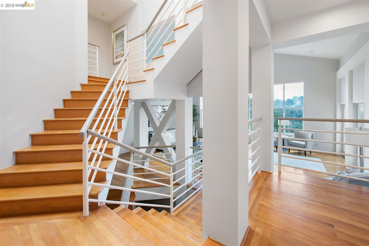 6799 Chelton Dr , Oakland, CA 94611 Oakland CA This Dramatic Three Story  Custom Contemporary Welcomes You In With A Sun Drenched Spiral Staircase  And ...