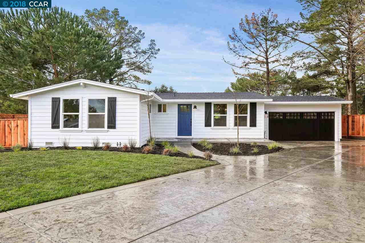 Single Family Home for Sale at 3363 Betty Lane 3363 Betty Lane Lafayette, California 94549 United States