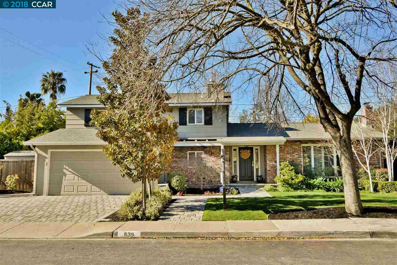 一戸建て のために 賃貸 アット 639 Banyan Lane 639 Banyan Lane Walnut Creek, カリフォルニア 94598 アメリカ合衆国