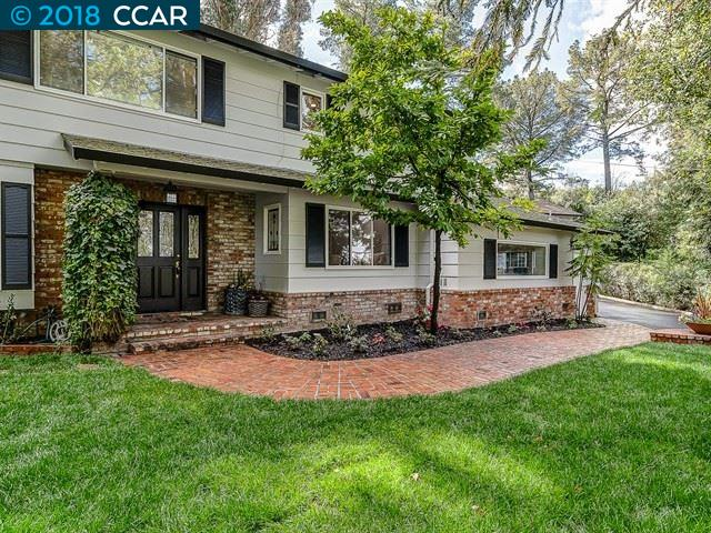 Single Family Home for Sale at 3181 B Lucas Drive 3181 B Lucas Drive Lafayette, California 94549 United States