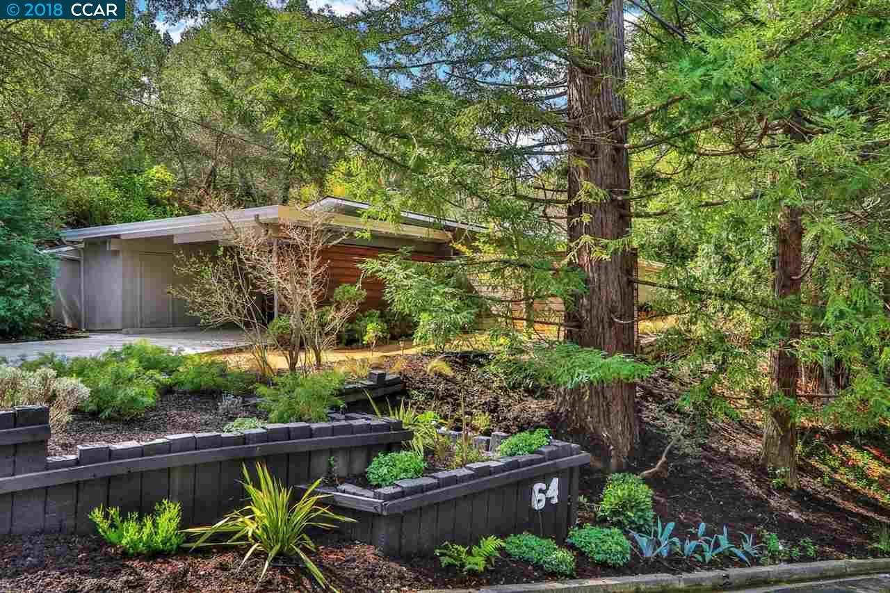 一戸建て のために 売買 アット 64 Evergreen Drive 64 Evergreen Drive Orinda, カリフォルニア 94563 アメリカ合衆国