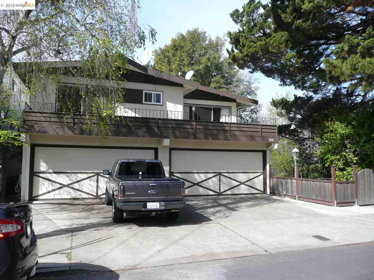 Multi-Family Home for Sale at 400 Stannage Avenue 400 Stannage Avenue Albany, California 94706 United States