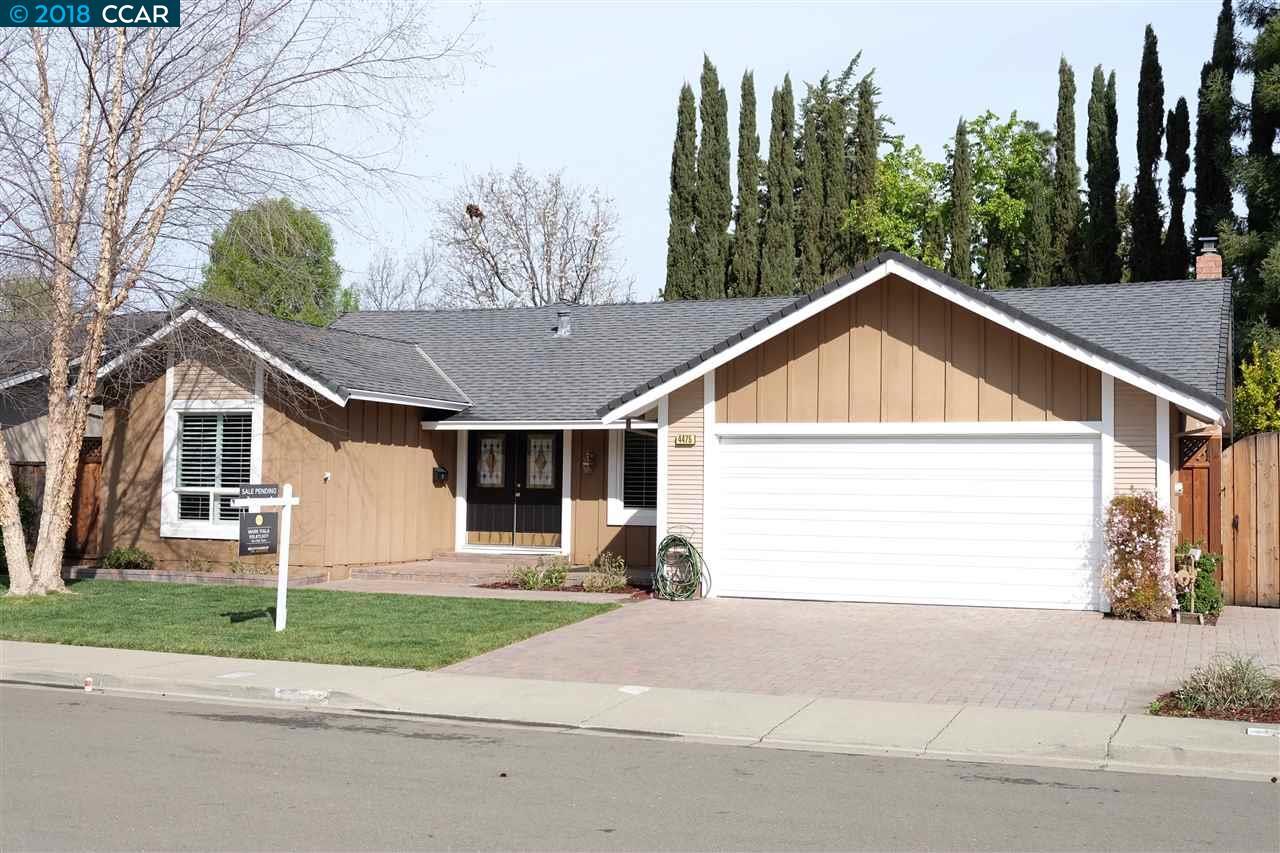Частный односемейный дом для того Аренда на 4475 Shearwater Court 4475 Shearwater Court Pleasanton, Калифорния 94566 Соединенные Штаты