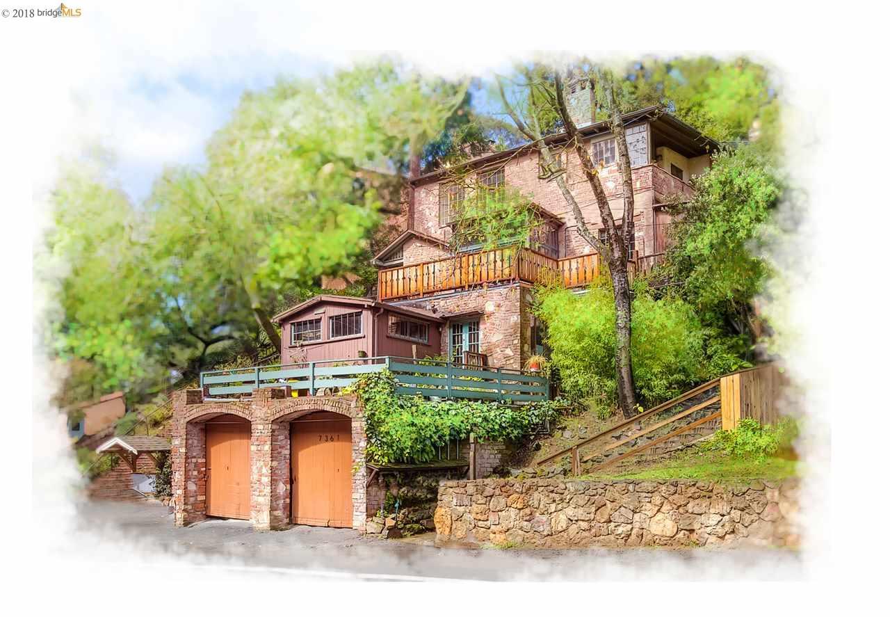 Многосемейный дом для того Продажа на 7361 Claremont Avenue 7361 Claremont Avenue Oakland, Калифорния 94705 Соединенные Штаты