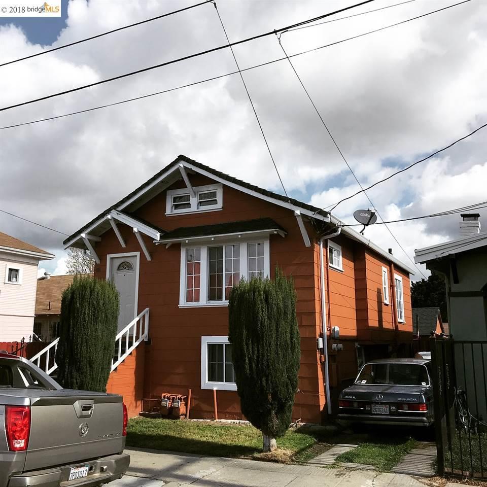 Multi-Family Home for Sale at 4114 E 17th Street 4114 E 17th Street Oakland, California 94601 United States
