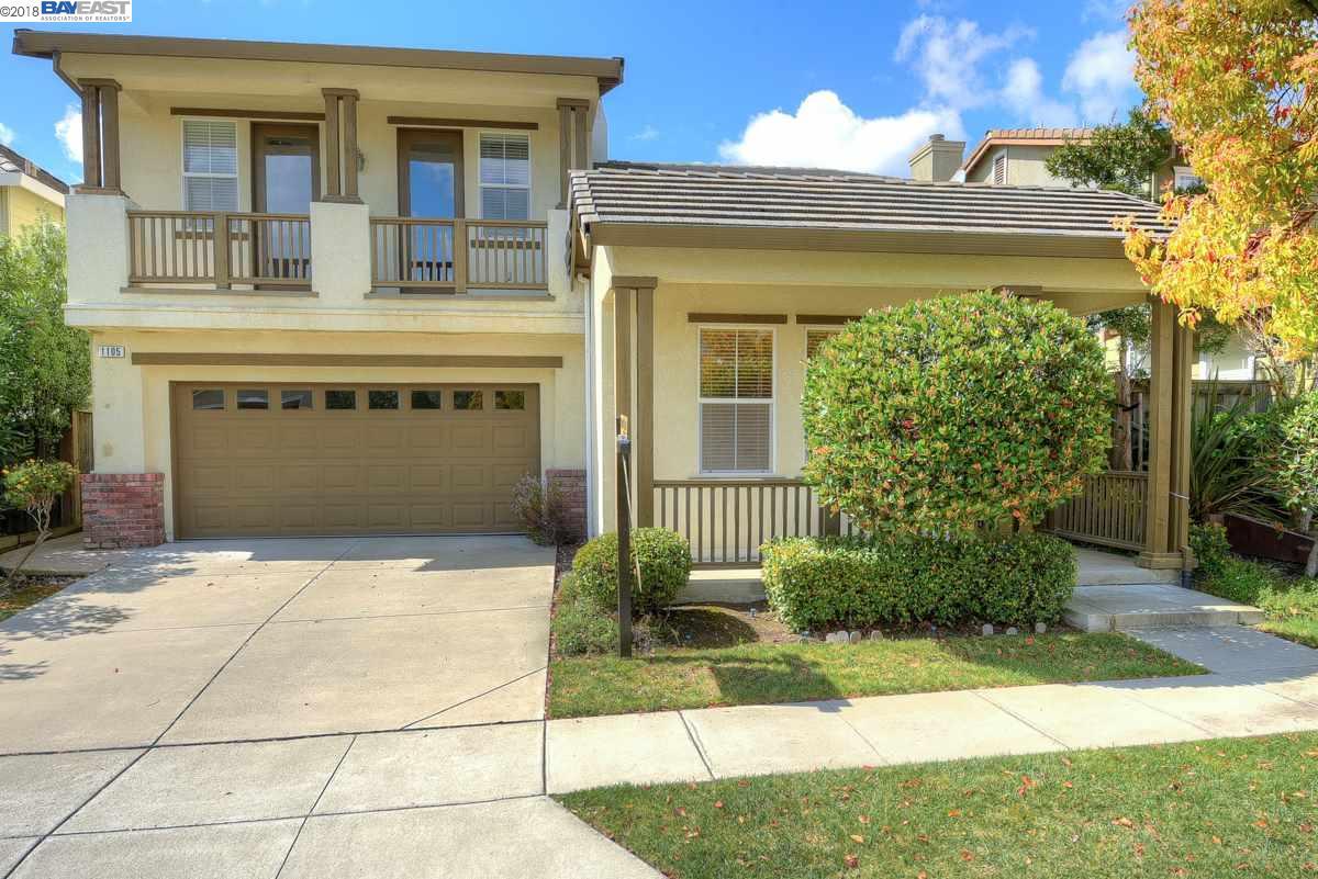 Single Family Home for Sale at 1105 Lantern Bay 1105 Lantern Bay Hercules, California 94547 United States