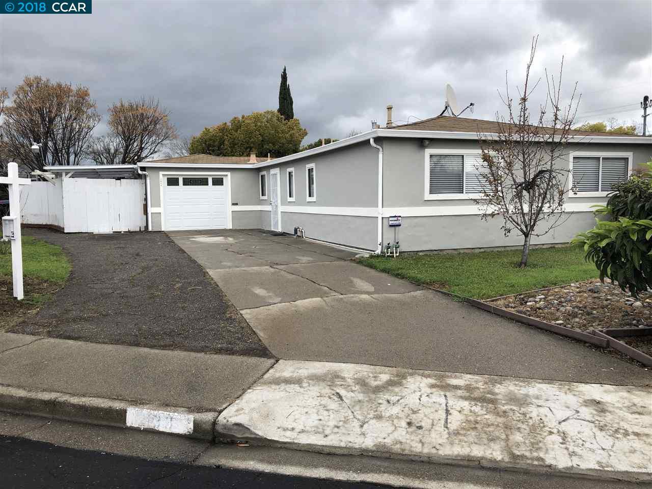 Частный односемейный дом для того Продажа на 2033 Crestwood Drive 2033 Crestwood Drive Antioch, Калифорния 94509 Соединенные Штаты