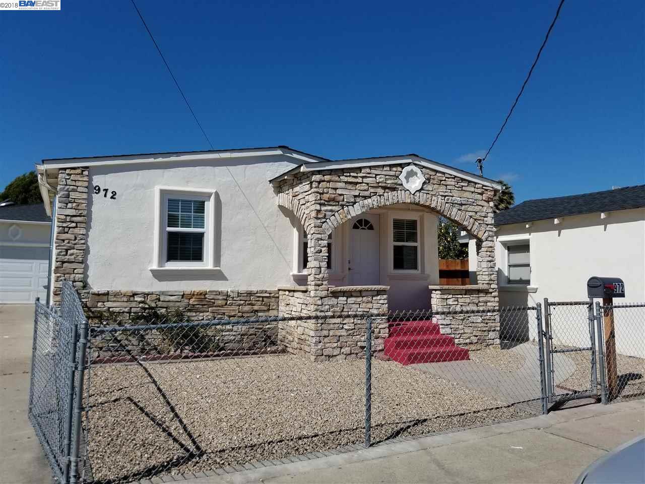 Einfamilienhaus für Mieten beim 972 Castro Street 972 Castro Street San Leandro, Kalifornien 94577 Vereinigte Staaten