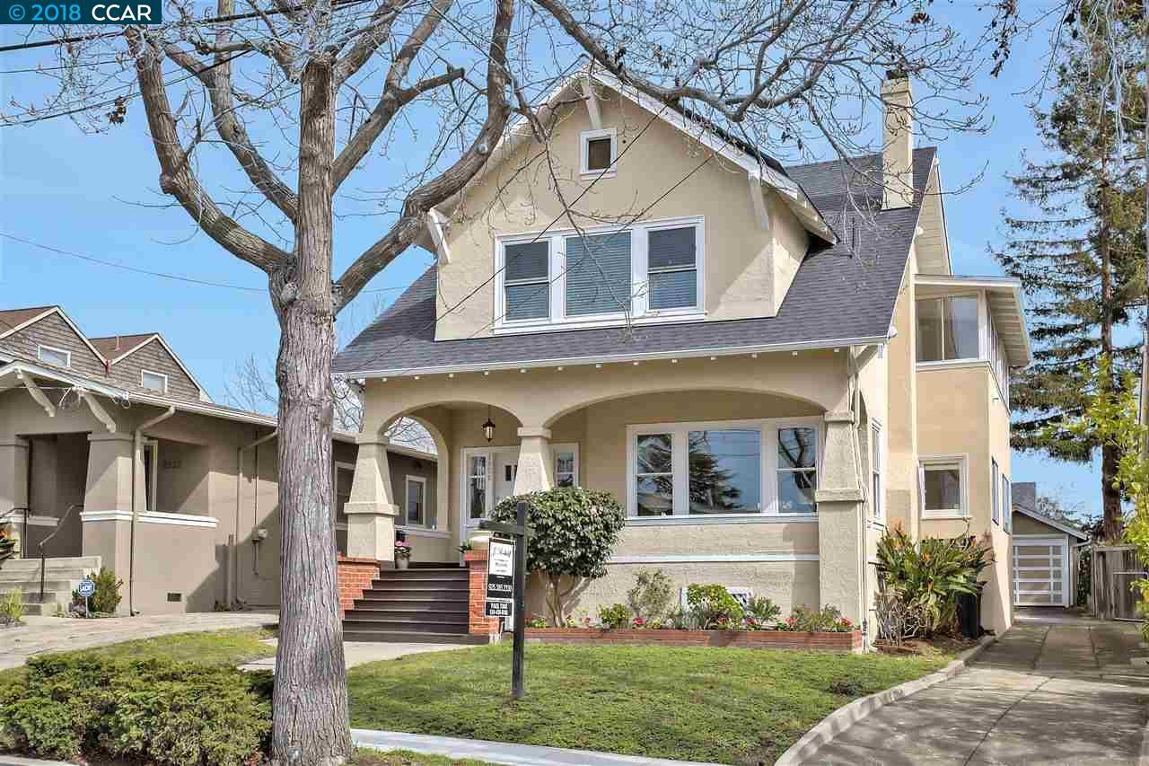 獨棟家庭住宅 為 出售 在 3926 Randolph Avenue 3926 Randolph Avenue Oakland, 加利福尼亞州 94602 美國