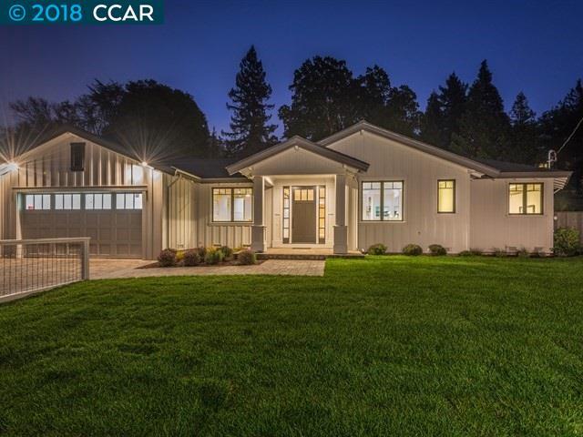 Частный односемейный дом для того Продажа на 3212 Los Palos Circle 3212 Los Palos Circle Lafayette, Калифорния 94549 Соединенные Штаты