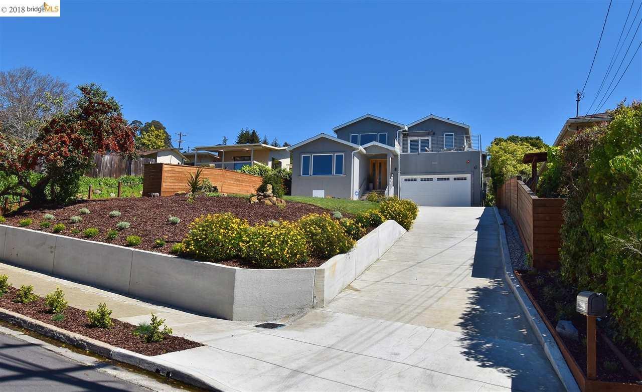 獨棟家庭住宅 為 出售 在 8002 Terrace Drive 8002 Terrace Drive El Cerrito, 加利福尼亞州 94530 美國