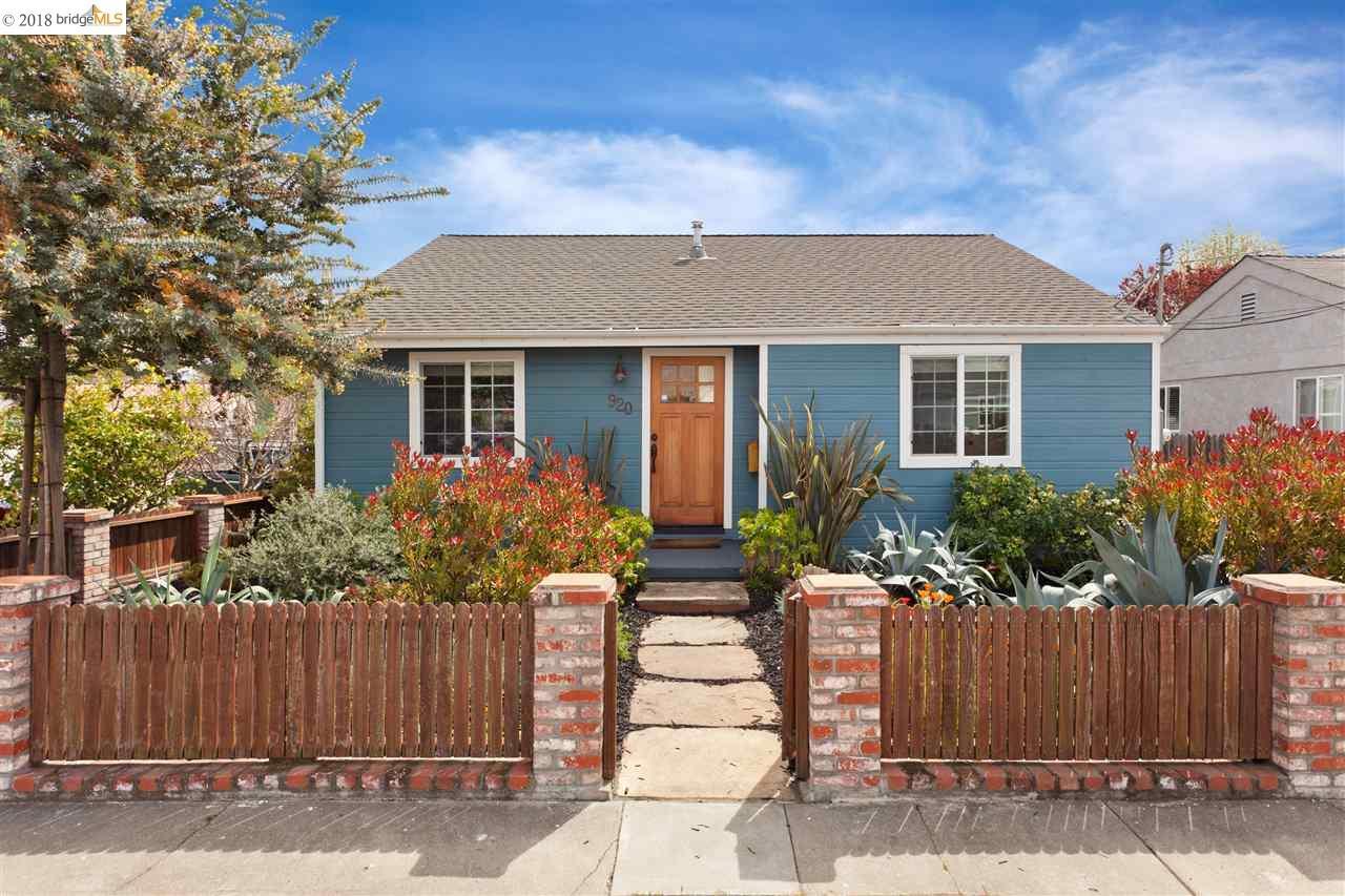 920 BATAAN AVE, BERKELEY, CA 94710