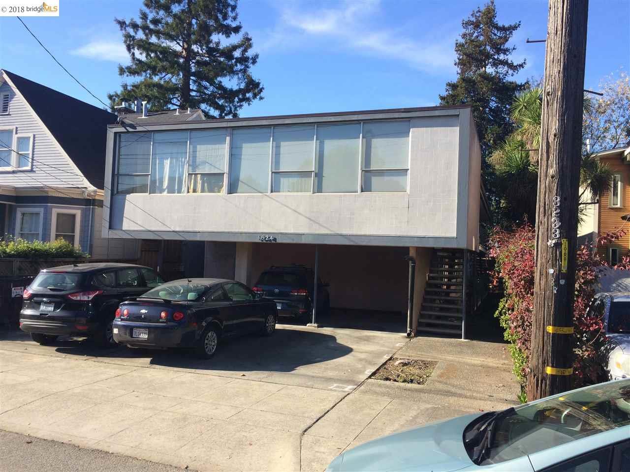 二世帯住宅 のために 売買 アット 1624 josephine 1624 josephine Berkeley, カリフォルニア 94703 アメリカ合衆国