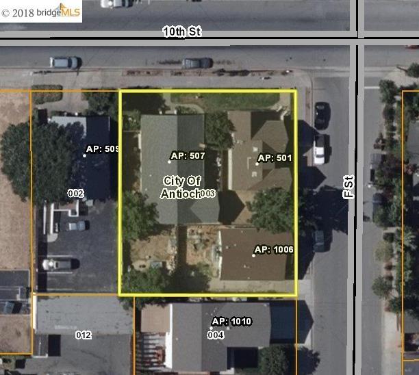 Mehrfamilienhaus für Verkauf beim 507 W 10Th Street 507 W 10Th Street Antioch, Kalifornien 94509 Vereinigte Staaten