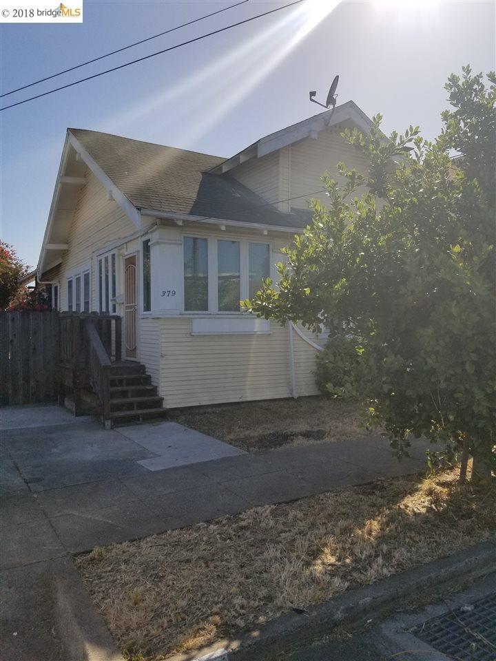 379 BECK STREET, RICHMOND, CA 94804
