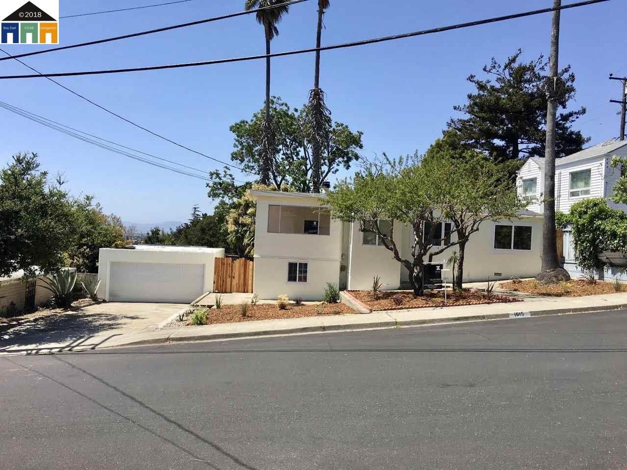 1615 ZINN STREET, RICHMOND, CA 94805
