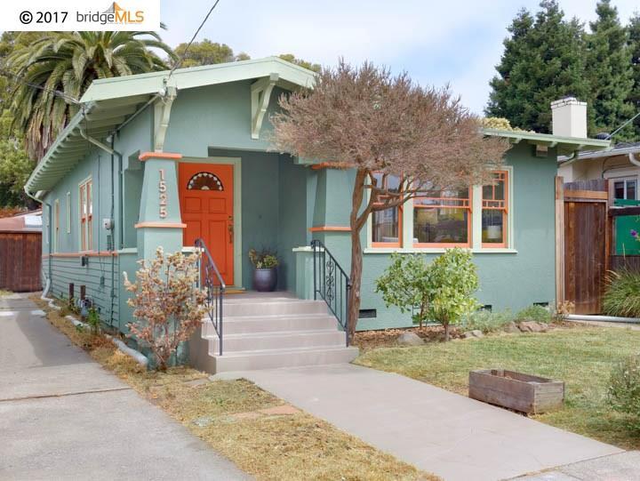 Karta Berkeley California.1525 Parker Street Berkeley 94703 Sold Listing Mls