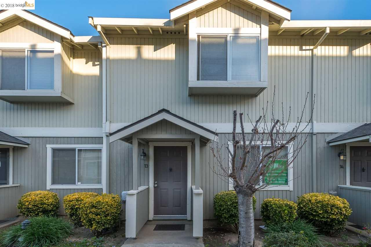 Must see! Excellent investor or 1st time home buyer opportunity! A commuters delight with a 6 block distance to BART and close to 880, 92 and 580 freeways. This 2 bedroom 1 1/2 bath has a private outdoor patio, in-unit laundry and an enclosed garage with a dedicated parking space.   Offers due 5 PM Mar 2nd Today!