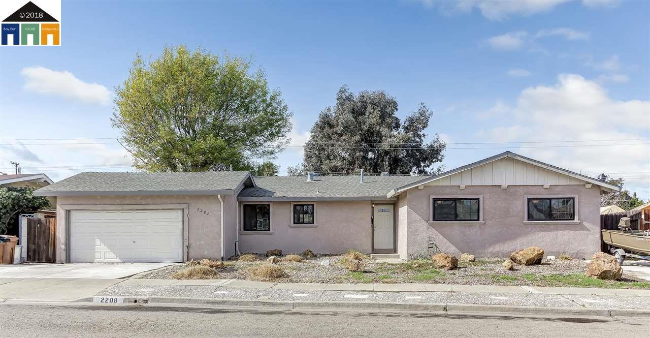 2208 Chickie St, ANTIOCH, CA 94509