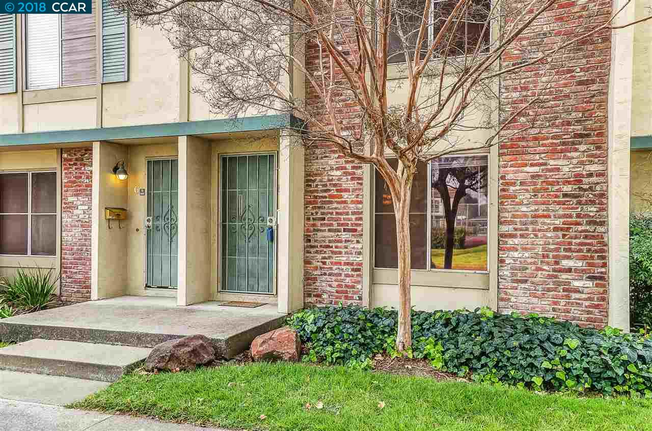 Wonderful opportunity in Concord! Fabulous 2 bedroom 1.5 bath townhome features include granite counter tops, new paint and carpet, inside laundry, spacious master bedroom and more! Quaint patio with storage area and covered parking. You won't believe the amazing location! Minutes to BART, shopping, downtown Concord, Todos Santos Plaza, music in the park and the exciting micro breweries new to Concord. Don't miss this one!