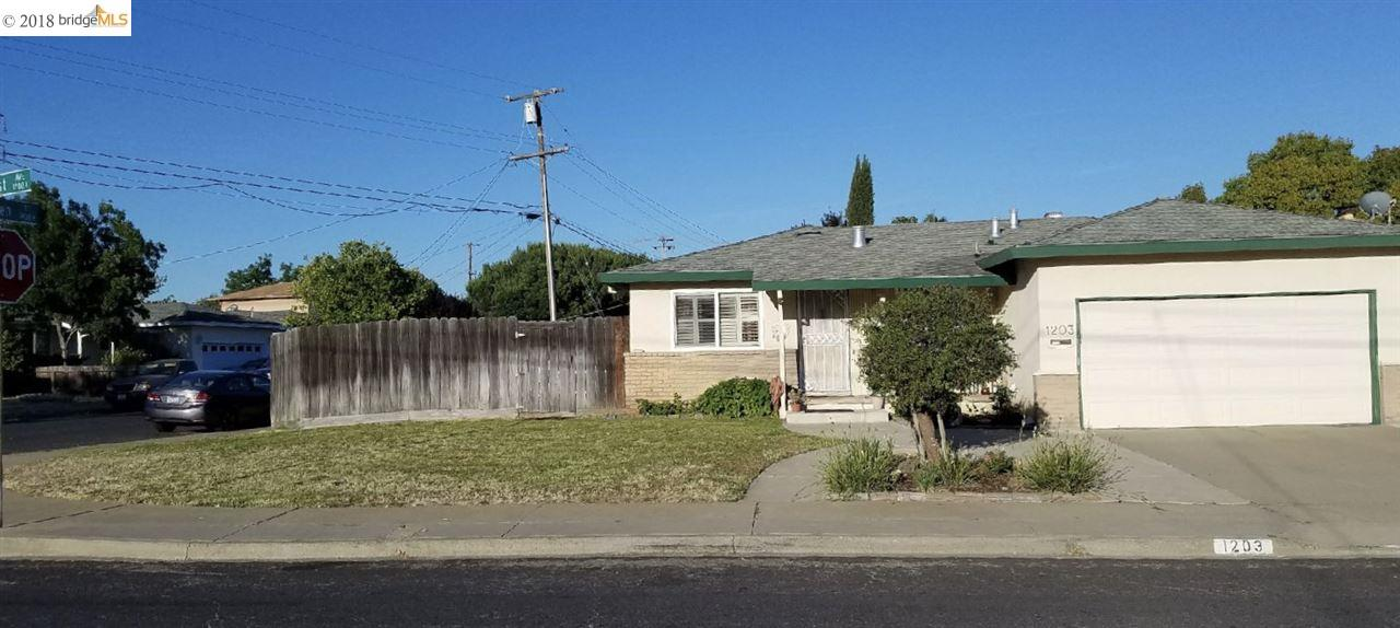 1203 Hillcrest Ave, ANTIOCH, CA 94509