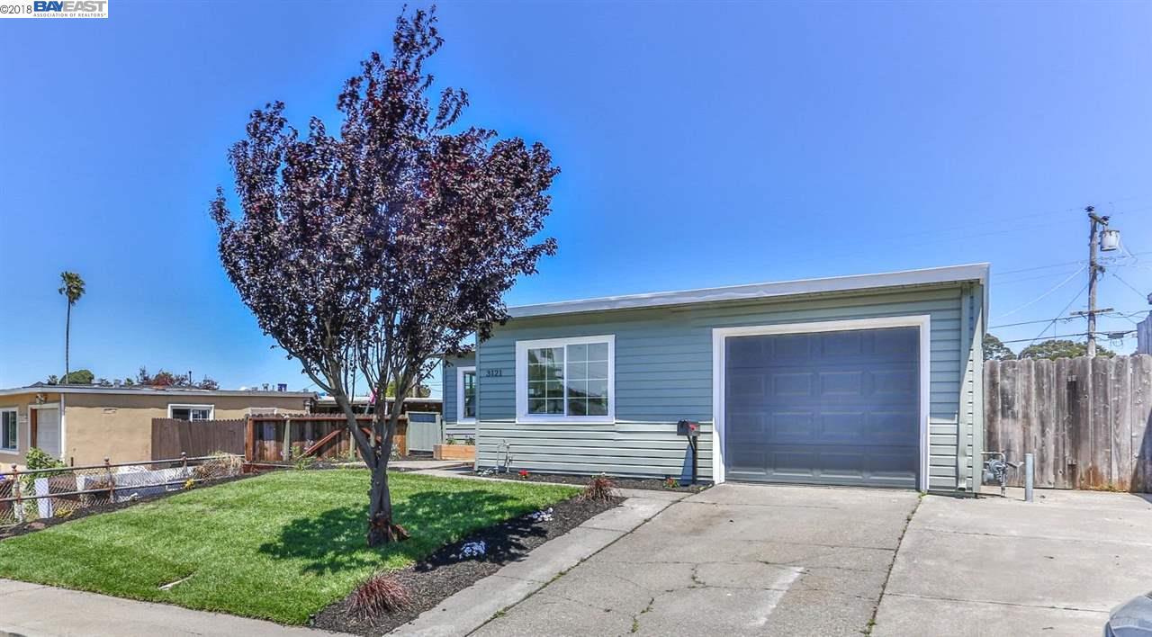 3121 BENJAMIN DR, RICHMOND, CA 94806