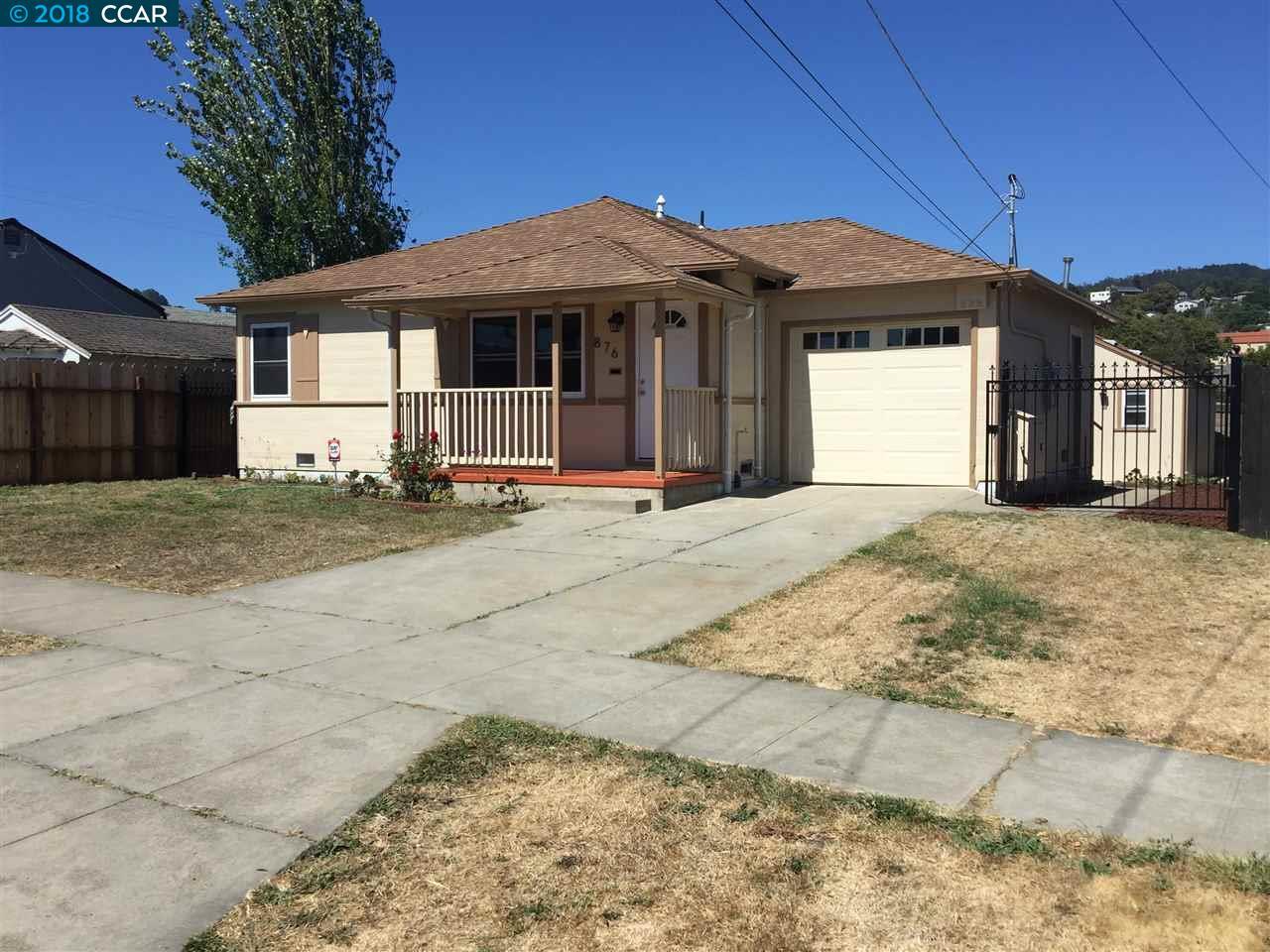 876 HUMBOLDT ST, RICHMOND, CA 94805