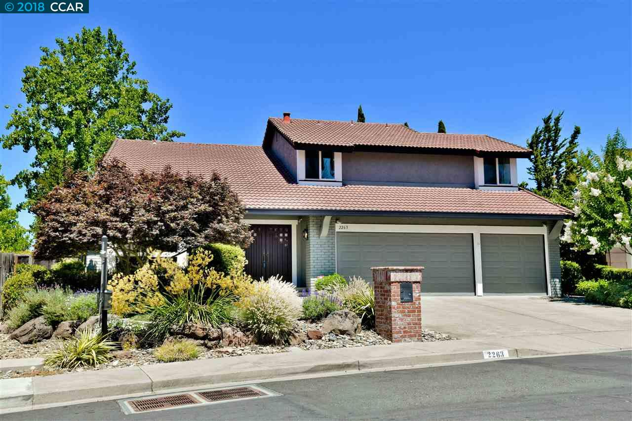 2263 BROMFIELD CT, WALNUT CREEK, CA 94596