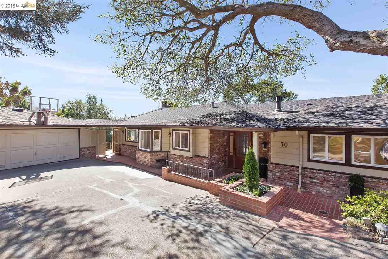 70 SOMERSET RD, PIEDMONT, CA 94611