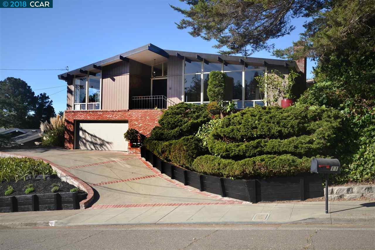11 LITTLEWOOD DR, PIEDMONT, CA 94611