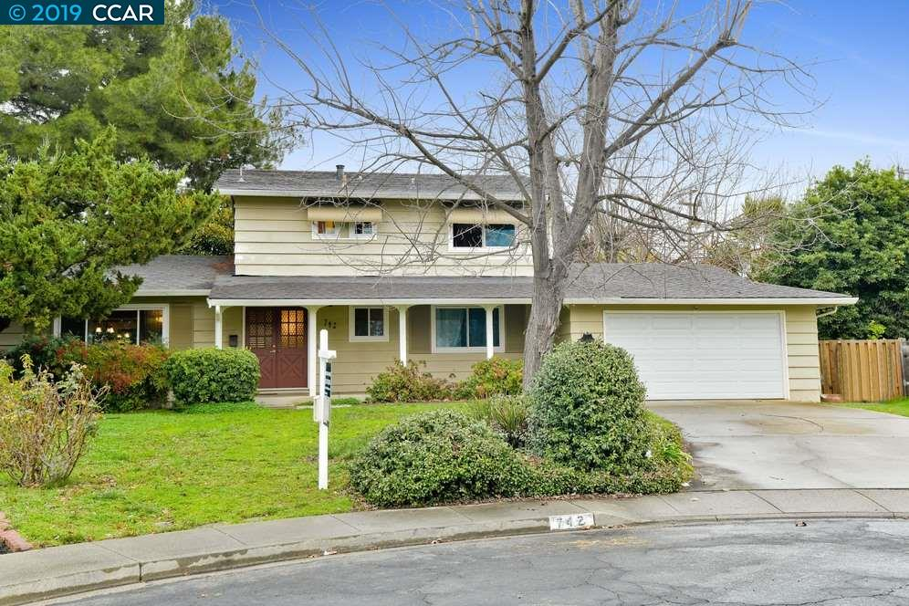 Image not available for 742 San Mateo Ct, Concord CA, 94518
