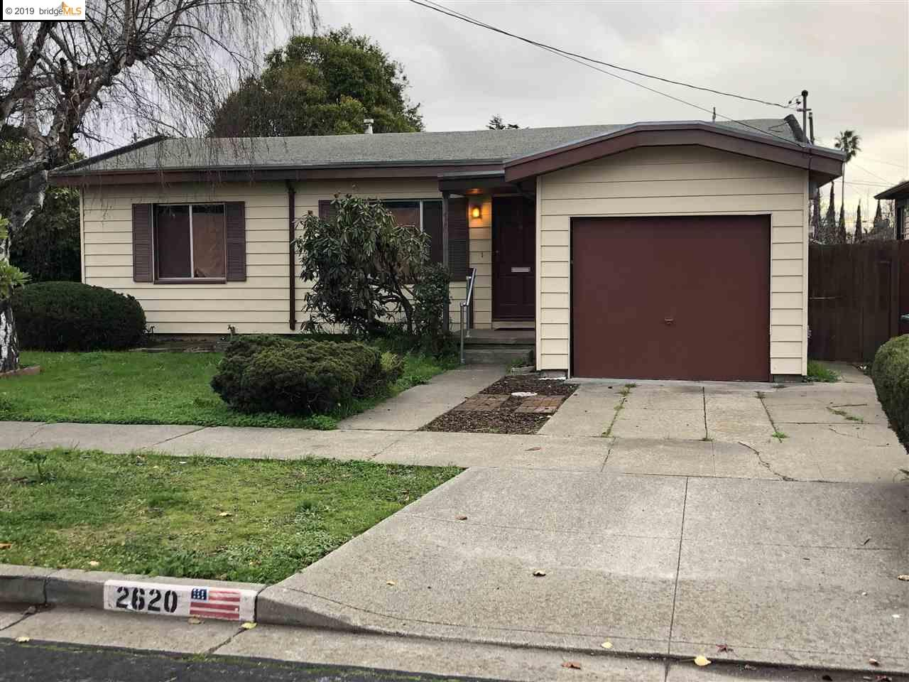 2620 LINCOLN AVE, RICHMOND, CA 94804